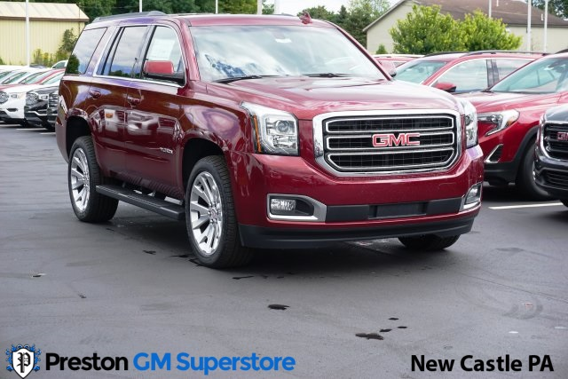New 2020 GMC Yukon SLE