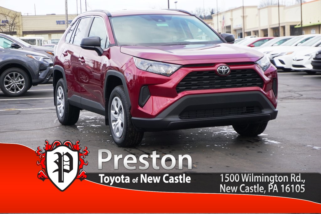 New 2019 Toyota Rav4 Le 4d Sport Utility In T19203 Preston Auto Group