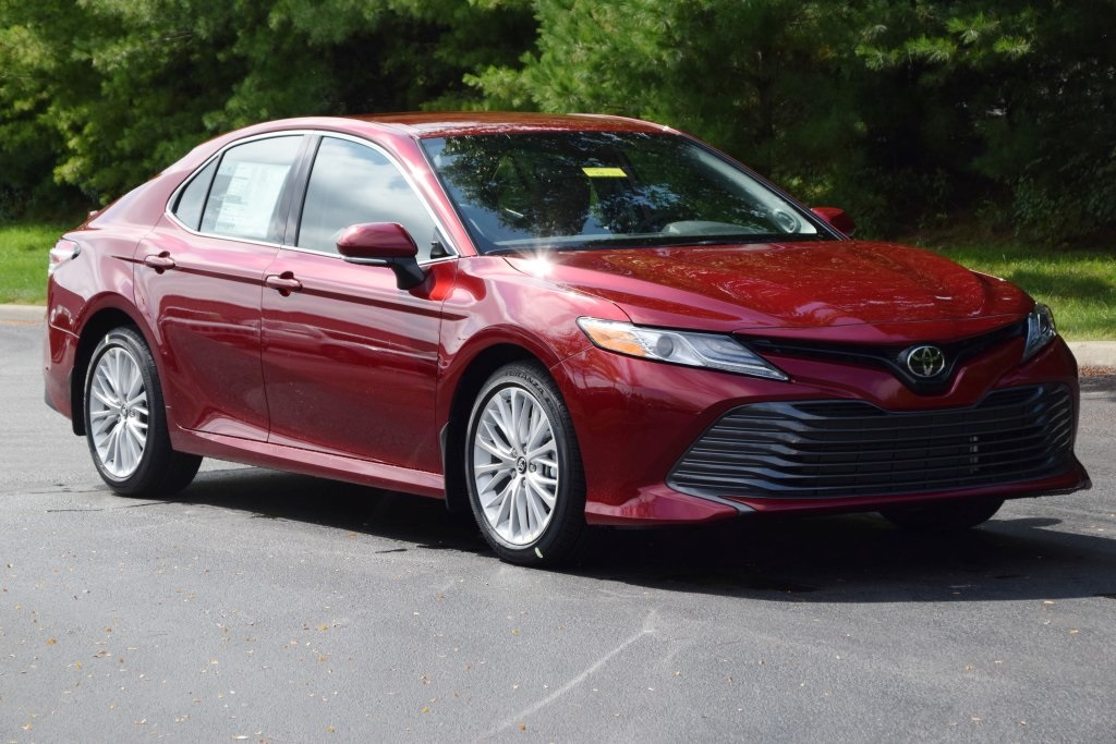 New 2019 Toyota Camry Xle 4d Sedan In T19074 Preston Auto Group